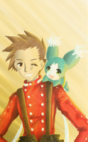 TALES: Lloyd and Mieu by ULTRArei