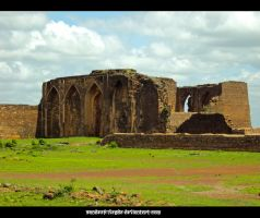 Ruined Fort by sandeep-hegde