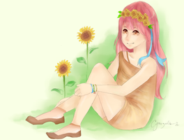 sunflower by bamboo08