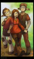 Back to Gaya - Menage a trois by In-Tays-Head