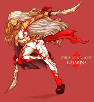 DragonBlade Katarina (fanskin) by ShiNaa
