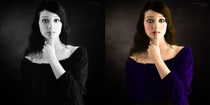 Colorize Gril 2 by silene7