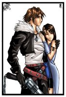 squall and rinoa by SquallLeonhart245