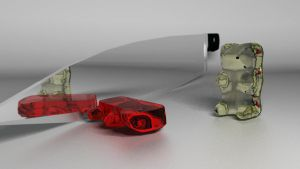 Gummy Bear Death No. 1 by kamibox