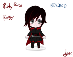 Ruby Rose RWBY Nendroid art ver. by RyuaChan