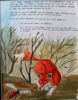 The Fox and the Mosquitos by Sne-aks