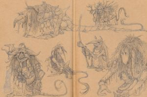 Froud Trolls 1 by eoghankerrigan