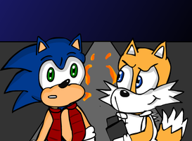 Sonic Goes Back To The Future by sweetkat22
