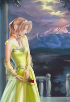 Princess Aerith by suaveli