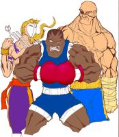 Street Fighter Baddies by rosslee
