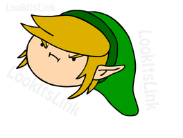 Grump Link by lookitslink