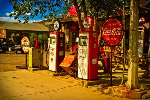 Route 66 Gas Station by NEOkeitaro