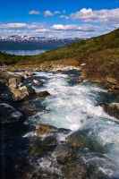 Summer in Abisko by amrodel
