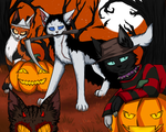 Warrior Cats - Halloween 2015 by Do-omed-Moon