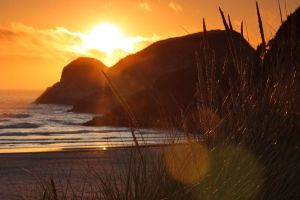 Cannon Beach - quiet sunset by pyro303
