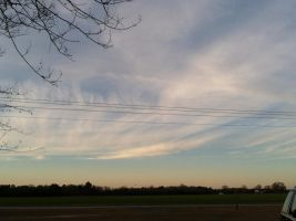 Clouds Explode from Gradient by annieheart12
