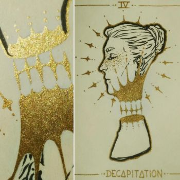Ink/Grosstober IV - Decapitation by HariamArt