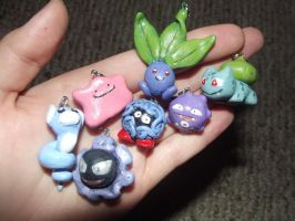 Pokemon Charms by TheDayIsSaved