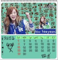 SNSD CALENDER by JasminEdition