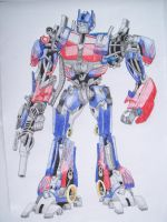 Transformers Optimus Prime by isterini