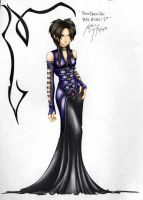 Prom Dress Colored by Hey-Poo-Guy