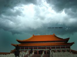 Temple Storm by UtopiaSkyPhotoWorks