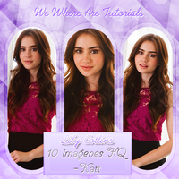 Photopack Lily Collins by KattLovesLarry