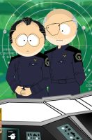 SouthPark Galactica by Adobewan