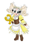 Fire Emblem Heroines Collaboration: Lissa by Magenta-Fantasies