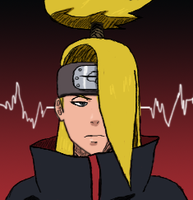 Another Tablet Deidara by SractheNinja