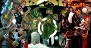 Green Arrow Universe by HectorBarrientos