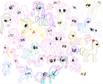 Pony Sketch Dump thing by Winree