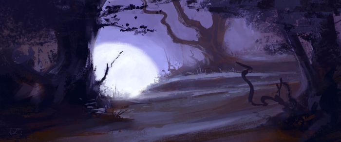 Forrest sketch by tomcech