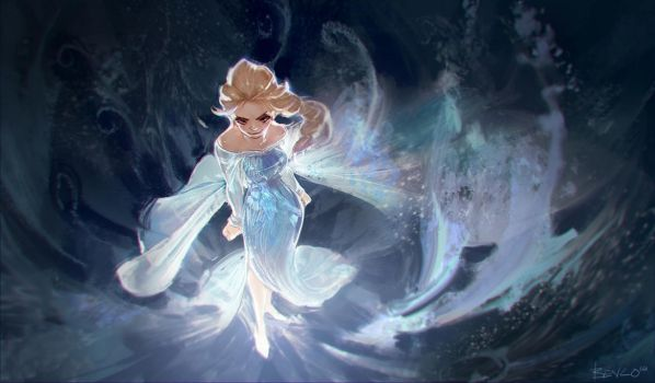 Let it go~ Let it goooo~ by Benlo