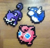 More Pokemon Hama Beads :P by Nidoran4886