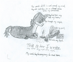 This Is How I Write by QuilloManar