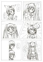 Miku X Rin ~ Comic by RyuKago