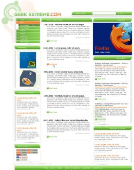 GEEK EXTREME Web Design 1 by ivosiliev