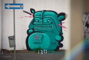 KIWIE VADER by KIWIE-FAT-MONSTER