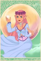 Fluttershy the elf of kindness by unicornsmile