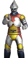 Godzilla The Video Game: Jet Jaguar by sonichedgehog2