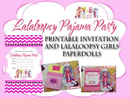 PHS-lalaloopsy-pj-party-invites-and-paperdol by blessedliez