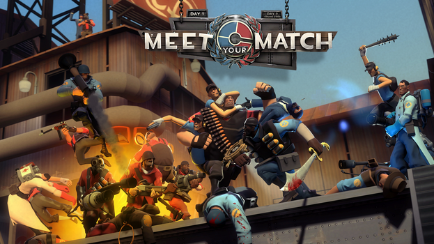 [SFM] Remade Meet Your Match Poster by EvilDoctorRealm