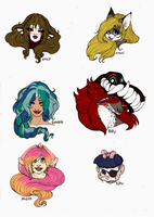 HEADS! HEADS EVERYWHERE!::CO:: by Crazy-Voodoo-Lady