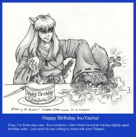Happy Birthday InuYasha ver. 2 by M-Skirvin
