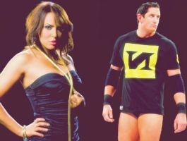 Wade Barrett and Layla by verusImmortalis