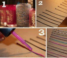 colored hair clips by RahafBelal