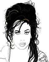 Amy Winehouse by olivera-h