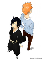 Ichigo and Yuki coloring by entropic-insanity