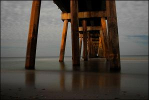 Pensacola Pier by dominussum